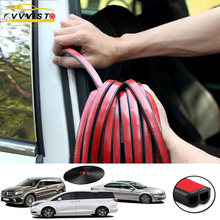 Car Styling uszczelka do drzwi Trips izolacja akustyczna bagażnika wodoodporne uszczelnienie naklejki do stylizacji samochodów uniwersalne wyposażenie wnętrza samochodów