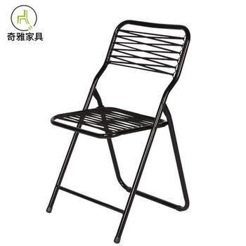 Krzesła ogrodowe meble ogrodowe meble ogrodowe stalowa rama gumka balcon składane krzesło przenośne krzesło ogrodowe nowoczesne tanie i dobre opinie China Ecoz solid Metal 48*48*85cm iron