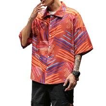 Camisas hawaianas Vintage de talla grande 4XL 5XL para hombre, camisa de verano de manga corta, ropa Hawái Casual para hombre XXXXXL
