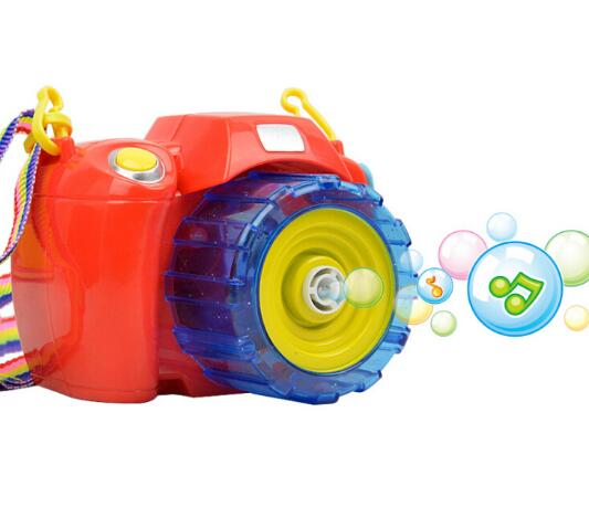WXFTDMULIUFENG Camera Blowing Electric Bubble Gun Kids Toys