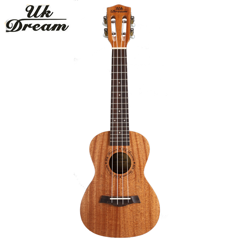 23 inch 4 Strings Mini Acoustic Guitar Full Mahogany 18 Frets UKulele Professional Musical Stringed Instruments guitarra UC-840T pattern thicken waterproof soprano concert tenor ukulele bag case backpack 21 23 24 26 inch ukelele accessories guitar parts gig