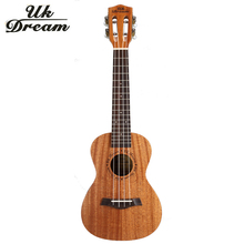 23 inch 4 Strings Mini Acoustic Guitar Full Mahogany 18 Frets UKulele Professional Musical Stringed Instruments guitarra UC-840T zebra 6 strings 38 inch folk acoustic electric bass guitar guitarra ukulele with case box for musical stringed instrument lover
