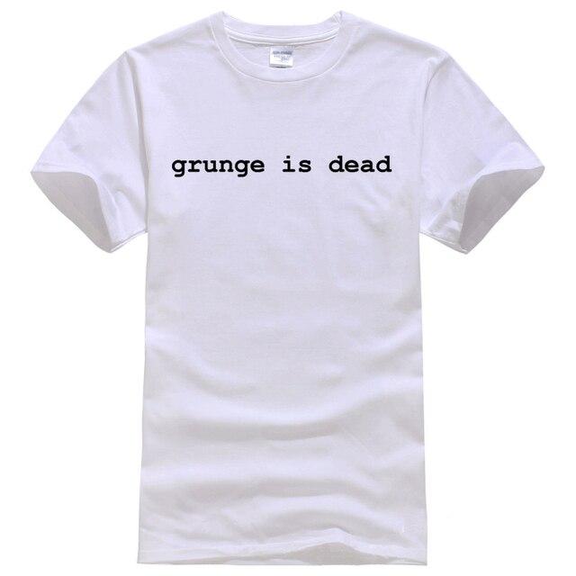 00d5d3ee Grunge is Dead kurt cobain, nirvana, 90s, rock, Graphic Tee Shirt Unisex  fashion women men short sleeve funny shirt 6 size