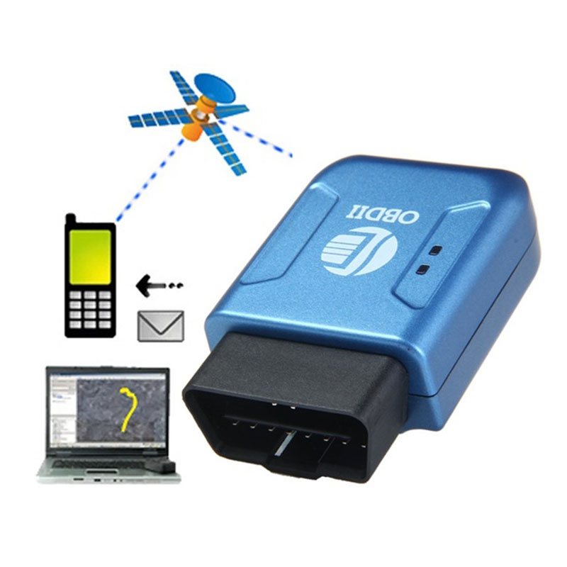 High quality Details about   Car GPS Tracker TK206 OBDII Interface with Geo-fenc