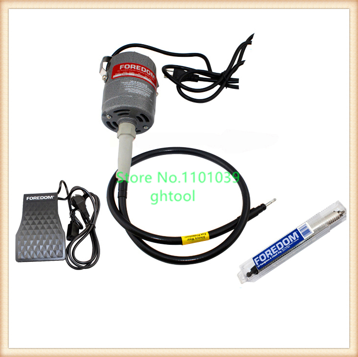 цена на Free Shipping Jewelry Dental Supplies Foredom CC30 Motor Flex shaft Machine jewelery tools