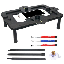 купить Positioning Fixture Kaisi 7 Inch Universal Mobile Phone LCD Clamping Under Screen laminating Fixture Repair Hand Tool Kit дешево