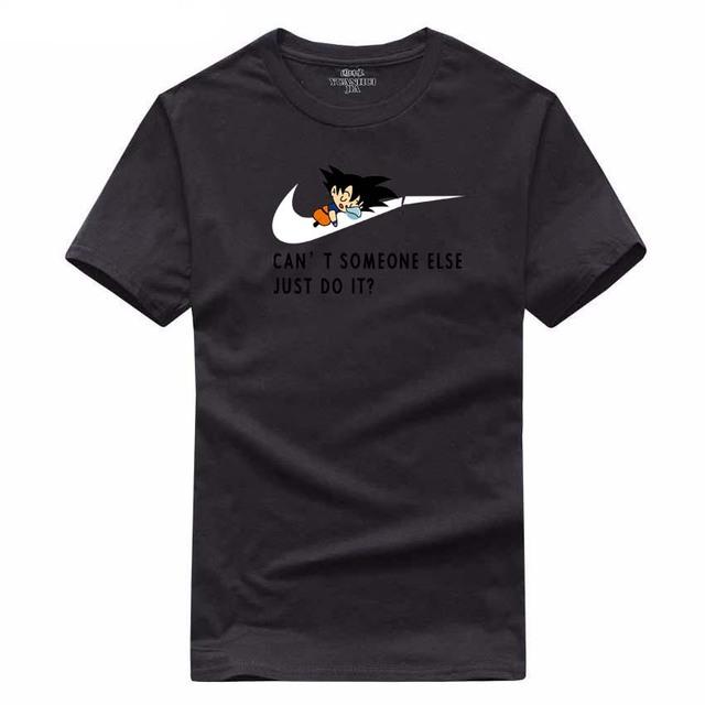 Dragon Ball Goku Just Do It Nike T-Shirt