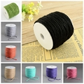 100m/roll 2mm Colored Hemp Cord Rope Photo Label Hang Wedding Home Handmade Crafting Packing Accessories Jewelry Making