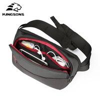 Kingsons мужские сумки через плечо мужские противоугонные нагрудные сумки школьные летние короткие поездки Курьерская сумка 2019 новое поступле...