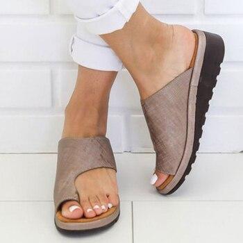 a3885ef8e5d8 2019 tejido zapatillas mujeres zapatos de verano Zapatos casuales de mujer  planos de las señoras de interior zapatillas diapositivas flip flops  pantufa pero ...