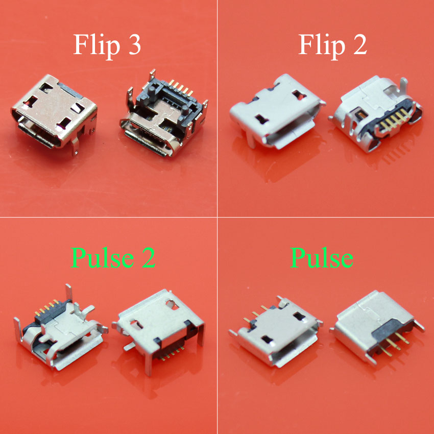 10pcs/lot For JBL Charge Flip 3 2 Pulse 2 Bluetooth Speaker Female 5 Pin 5pin Micro USB Jack Charging Port Socket Connector