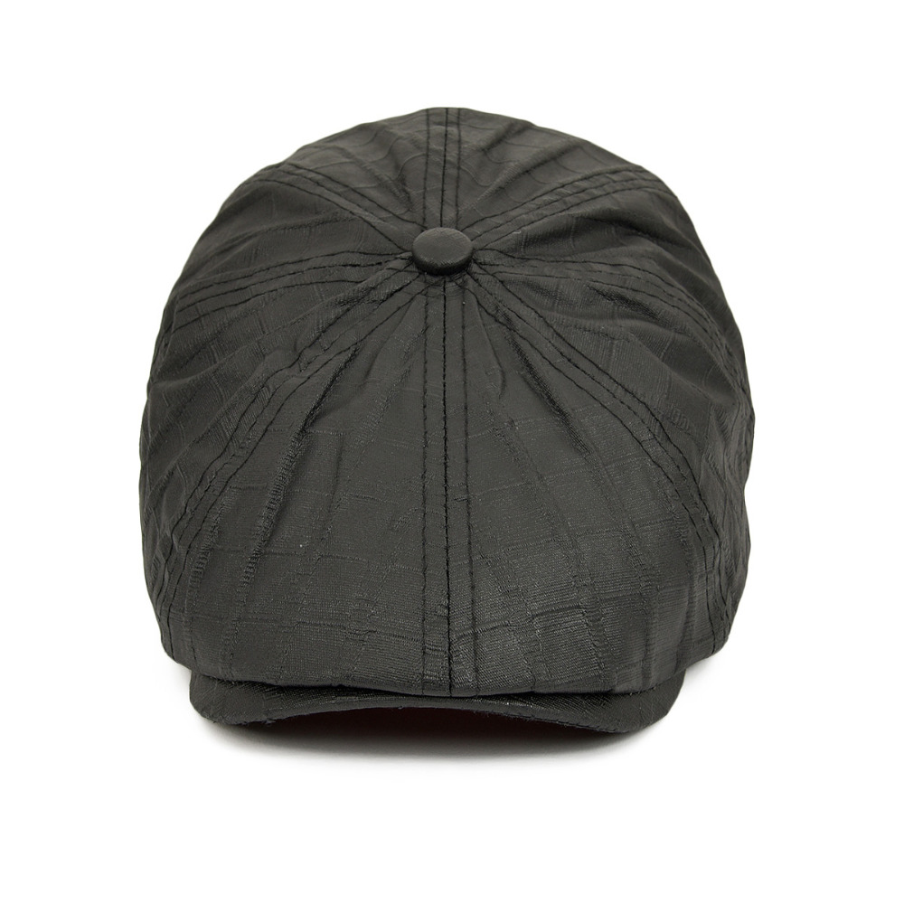 228424d45bd1 VOBOOM Oil Cloth Men Women Newsboy Flat Cap Gatsby Beret Hats ...
