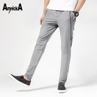 AmynickA Hiking Pants Men New 2017 Summer Quick Dry Sport Pants For Running Camping Outdoor Trekking Trousers Size 28-36 ML835