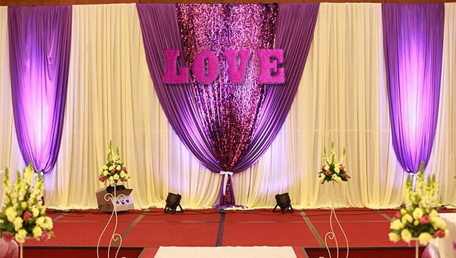 LOVE letter backdrops wall decoration wedding&enggement party DIY ...