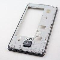 Black White Gold Original Middle Frame Plate Bezel For Samsung Galaxy Note 4 N910 N910F N910V
