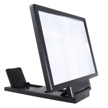 Mobile phone screen 3D amplifier magnifier Amplification 8 inch Universal for all Folding expander stand