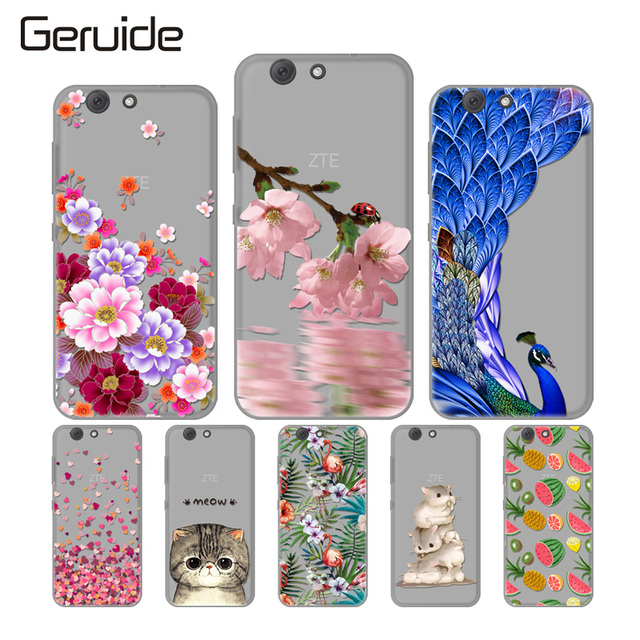 new arrival 13a5c 06130 US $1.99 |Geruide For ZTE Blade A512 Case Cover, Fashion Soft TPU Silicon  Back Cover Cases For ZTE Blade A512 Z10 5.2