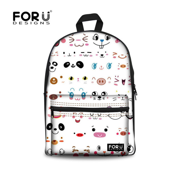 060f17b4b1a3 FORUDESIGNS Fashion Children Kawaii Backpack