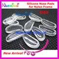 500 unids Si85 Marco Eyewear Gafas de Silicona Almohadillas de Nariz Suaves Para Nylon Accesorios 14mm envío gratis