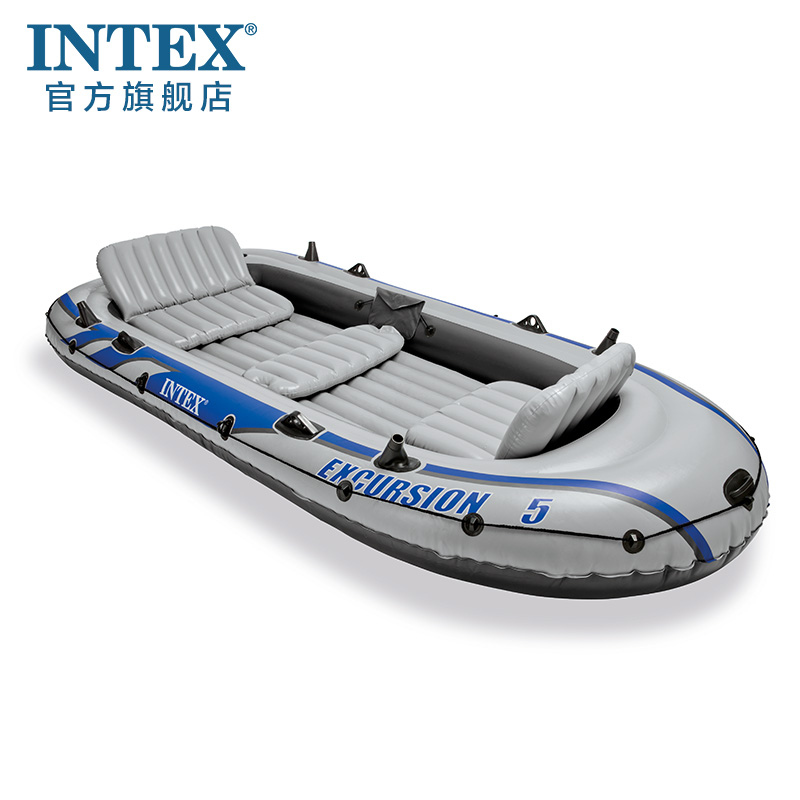 Spiksplinternieuw Roeiboot Dikke rubberen boten opblaasbare boot vissen kajak AY-41