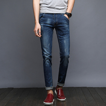 2017 high quality brand jeans men new fashion male denim pants casual long men jeans male trousers 571509