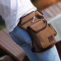 High Quality Men Belt Bag Canvas Leg Bags Men Travel Bicycle Bags Waist Pack Bag Fanny Pack Bolsos