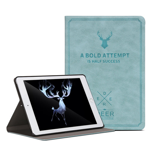 Blue Blue Case For iPad 7th Gen 10 2 2019 Aiyopeen Smart Flip Holder Stand Cover for ipad