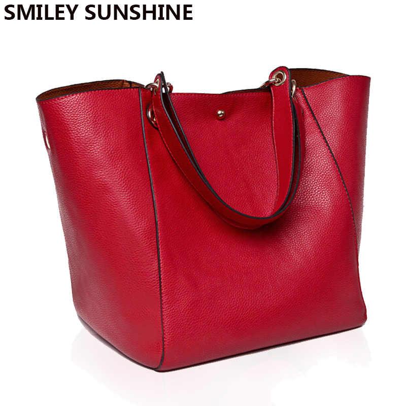 Женская сумка-мессенджер на плечо, большая сумка из искусственной кожи, женская Настоящая черная сумка, женская сумка через плечо, женская сумка