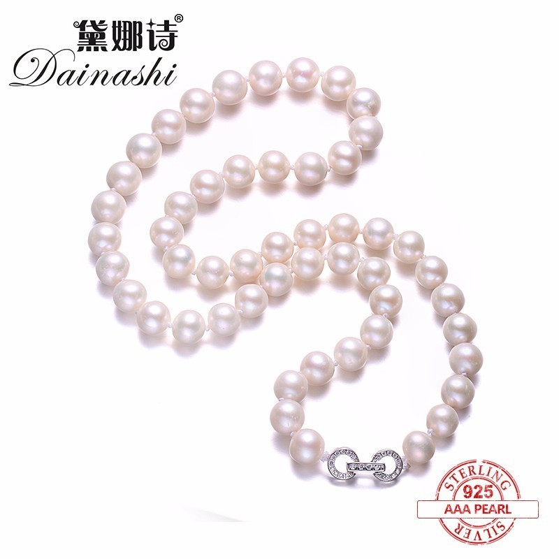 Amazing Price Elegant Round Pearl Necklace,High Quality Natural Freshwater Pearl Necklace for Women Fine Pearl&Silver Jewelry Amazing Price Elegant Round Pearl Necklace,High Quality Natural Freshwater Pearl Necklace for Women Fine Pearl&Silver Jewelry