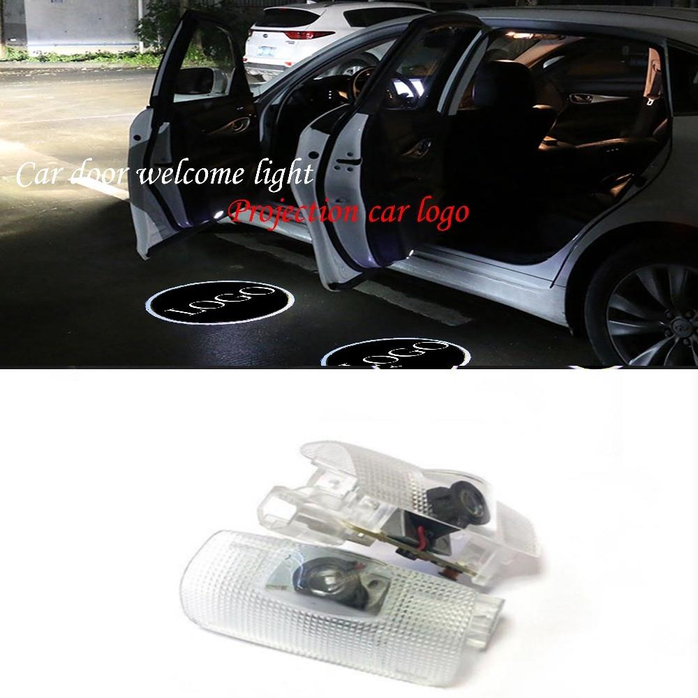 Car Stainless Steel Door Sill Scuff Coque de protection pour seuil de porte de voiture
