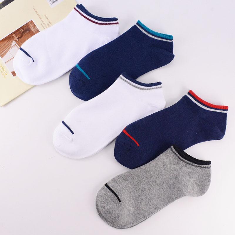 Socks men short A31 summer socks pure cotton socks men regular thickness