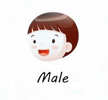 Косплей ONSEN Little Twin Stars Kiki, костюм для косплея, платье, полный комплект, все размеры, на заказ - Цвет: Male