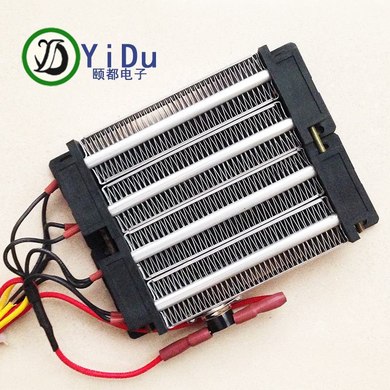 High Quality 1000W 110V Insulated PTC ceramic air heater heating element 140*100mm 1000w 220v sic ceramic heater w sleeve grey