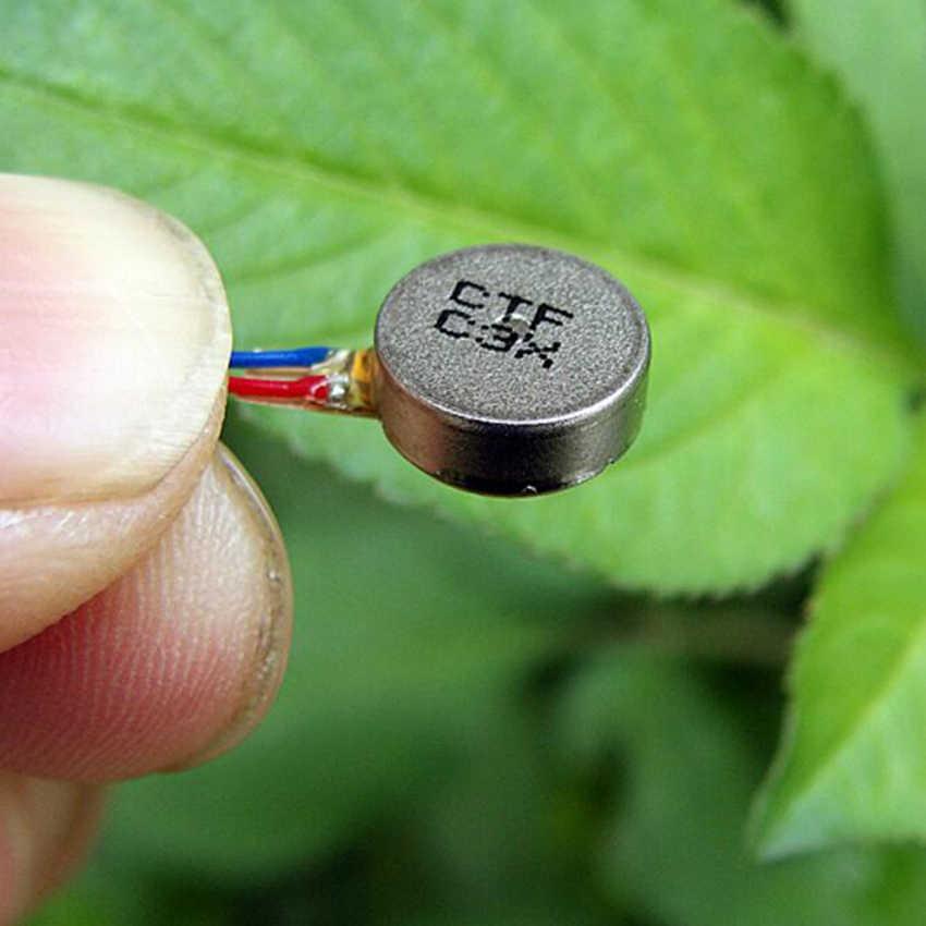 1 ชิ้น Mini การสั่นสะเทือนมอเตอร์ DC3V-4.2V 0930 แบนปุ่ม - ประเภท Moteur สำหรับโทรศัพท์มือถือแท็บเล็ตเครื่องใช้ไฟฟ้าในครัวเรือน