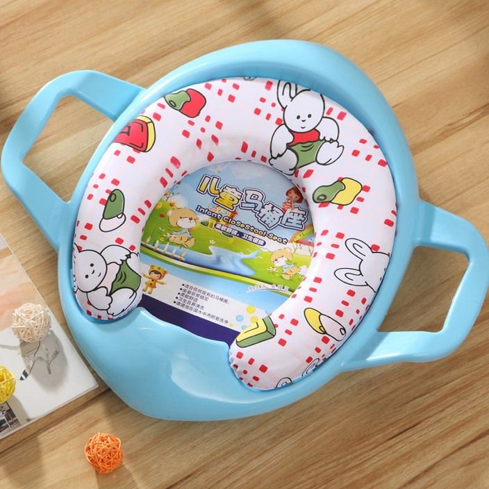 Soft Toilet Baby Training Seat Cushion Child Potty Urinal Chair Pad Sponge With Handle Develop Independence