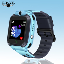 купить Smart Watch LIGE Children Phone Watch LBS Child Anti-lost Baby Watch SOS Call Location Locator Tracker for Android  With Camera дешево