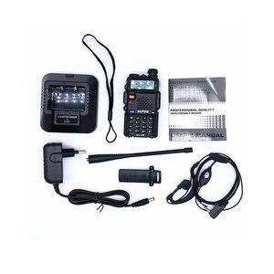 Image 5 - 2PCS BaoFeng UV 5R Walkie Talkie 5w CB Ham Radio hf fm Transceiver 128CH VHF&UHF Handheld Radio Station For Hunting 10km UV 5R