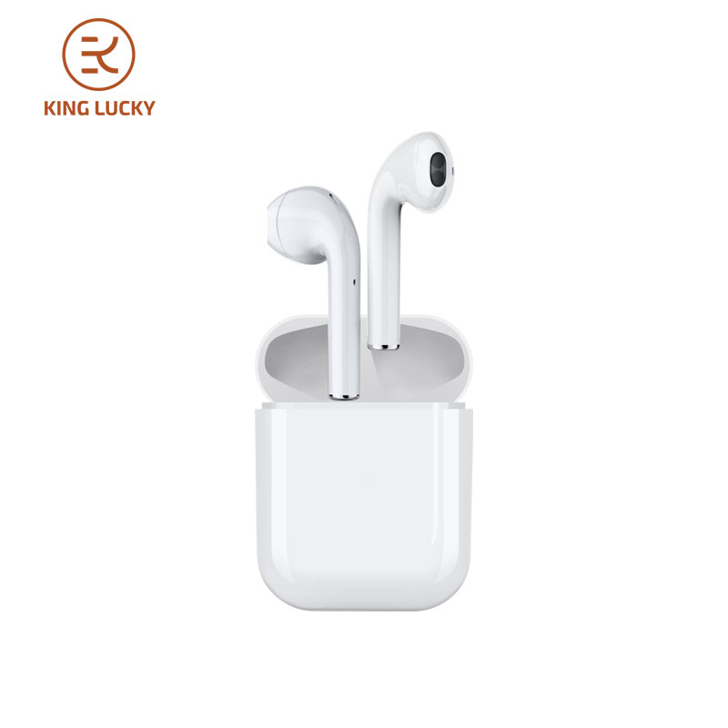 KING LUCKY <font><b>i18</b></font> <font><b>TWS</b></font> 5.0 Bluetooth <font><b>Earphone</b></font> Mini Wireless Headphones wiht Charging BOX For For Android iPhone ipad image
