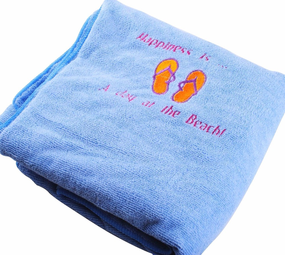100% Cotton Bath Towel Personalized Embroidered Bath/Beach Towel Gift  Embroidery Spa Any Text AE0425-in Embroidery from Home & Garden on  Aliexpress.com ...