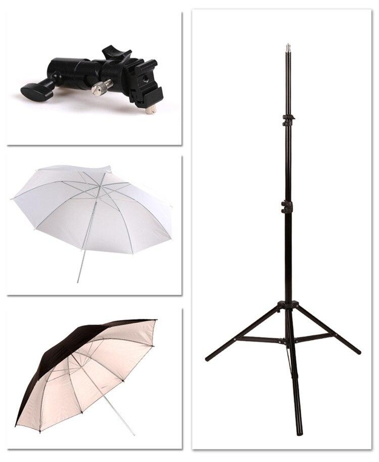 E o Flash titular guarda chuva 2 metros de espessura quadro de luz flexível 33 polegada CD50 do refletor do guarda chuva Acessórios de estúdio de foto     - title=