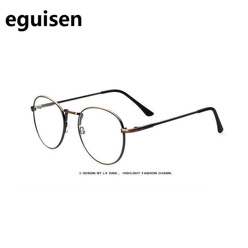 Width-136 Metal Thin Eyeglasses Frames 9254 Round Reading Glasses Men And Women RETRO Goggles Myopia Optical Spectacles Frames