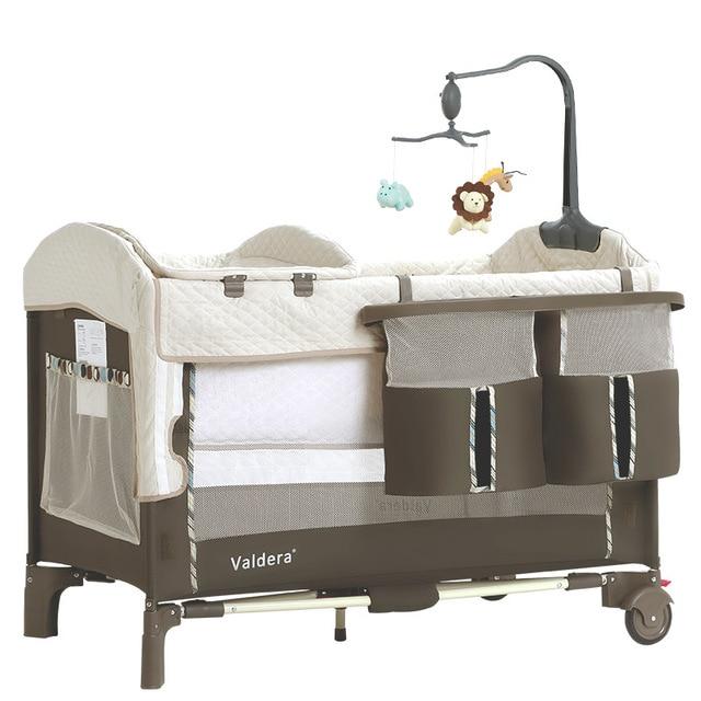 Valdera-berceau pliable et multifonctionnel   Remplacement pour nouveau-né, lit à bascule, lit de jeu