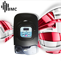 BMC GI Auto CPAP Machine Black Shell Portable Sleep Massage & Relaxation Respirator With Air Humidifier Treatment Mask Filters