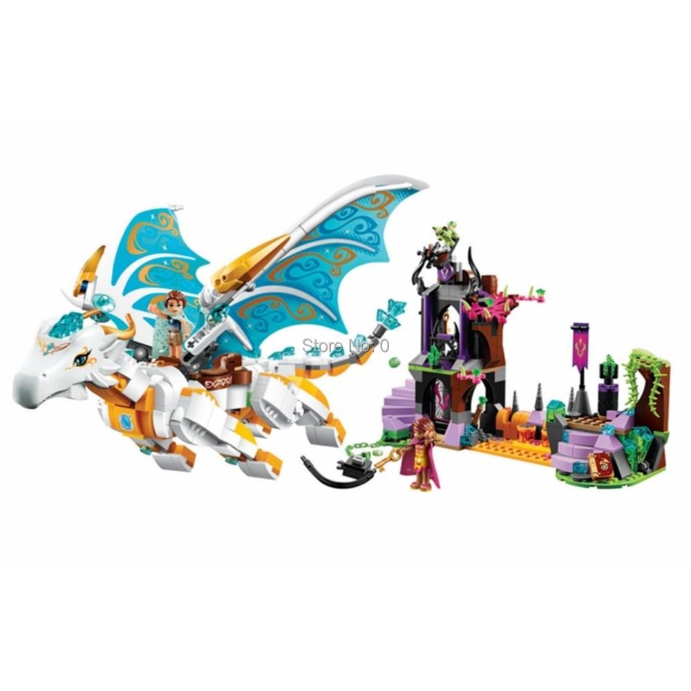 Elves Queen Dragon S Rescue 41179 Compatible Legoing Building Block New Sets