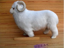 big size sheep toy cute sheep doll lovely creative white sheep doll gift about 40x18x30cm