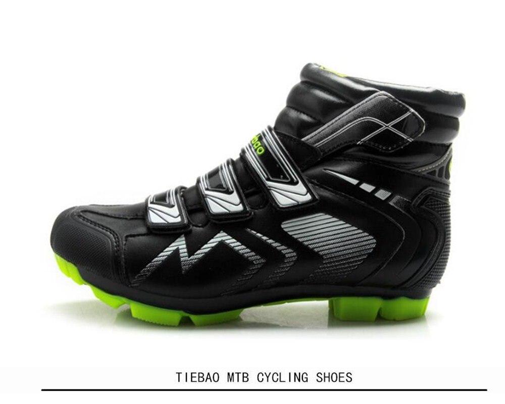 41db043b63 2019 TIEBAO Winter Cycling Shoes Sapatilha Ciclismo MTB Sneaker Men ...