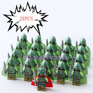 Image 2 - Lord of the Rings Corps Witch king RingWraith King of The Dead Army Mordor LegoING Action Figure Building Blocks Children Toys