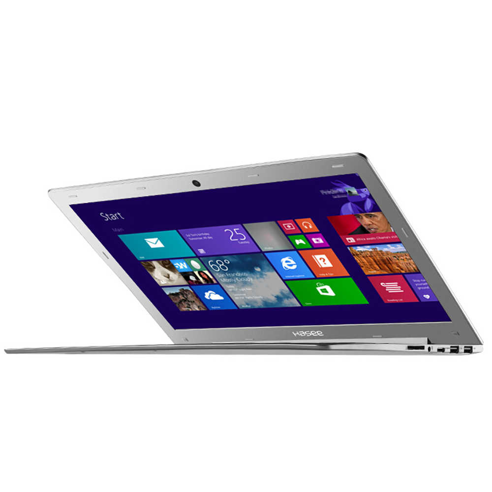 "HASEE 14 ""дюймовый бизнес ноутбук 256 ГБ SSD ноутбук ПК 1080 P HD светодиодный дисплей с подсветкой для Intel Core-m 5Y71 8 Гб DDR3L компьютер"