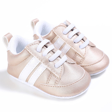 New Design  baby  Infant Anti-slip PU Leather first walker soft soled Newborn 0-1 years Baby shoes Baby First Walker