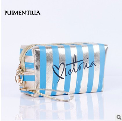 Waterproof Laser Cosmetic Bags Women Make Up Bag PVC Pouch Wash Toiletry Bag Travel Organizer Case